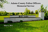 Adams County Fallen Officers :