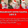 Breakfast with Santa - 2013 :