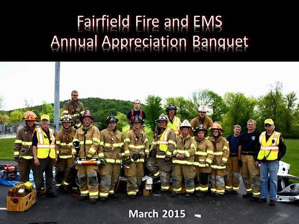 Fairfield Fire & EMS Banquet 2015