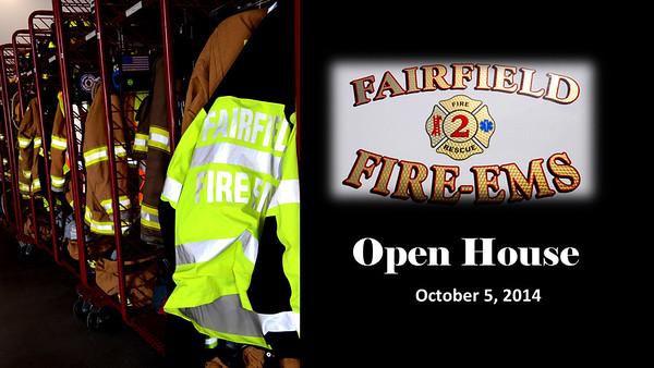 Fairfield Fire & EMS Open House Oct 2014