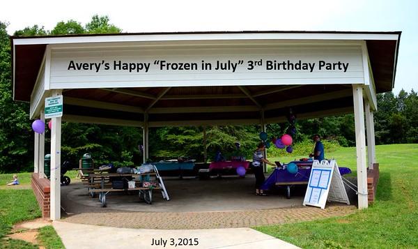 Avery 3rd Birthday