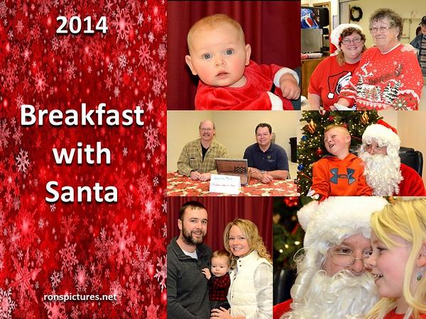 Breakfast with Santa - 2014