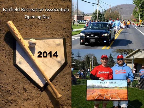 2014 Fairfield Baseball Opening