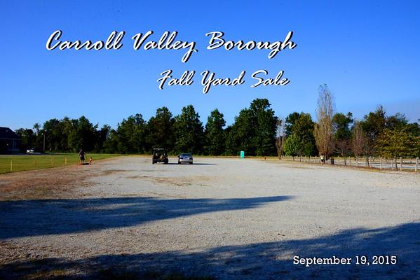 Yard Sale Sept 2015